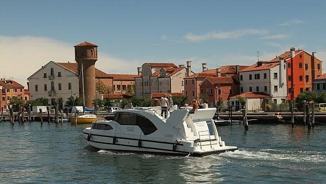 Venezia e la Laguna. Dall'houseboat