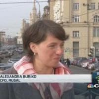 Russia, prima donna al vertice del gigante minerario Rusal