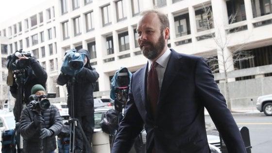 Russiagate: l'ex uomo chiave di Trump Rick Gates, si dichiara colpevole
