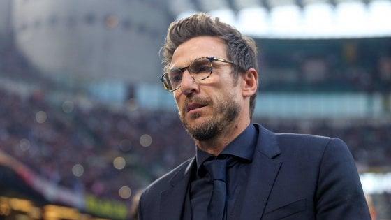"""Roma, Di Francesco: """"Schick? Può partire dal primo minuto, al fianco o al posto di Dzeko"""""""