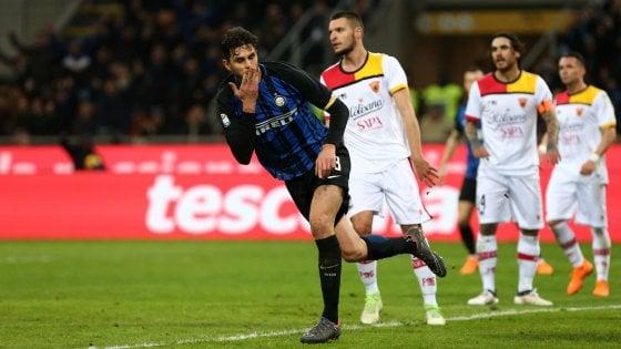 Inter-Benevento 2-0: ci pensano Skriniar e Ranocchia, ma che fatica per i nerazzurri