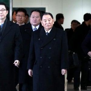 """Delegazione nordcoreana """"ad alto livello"""" arriva per la chiusura dei giochi olimpici"""