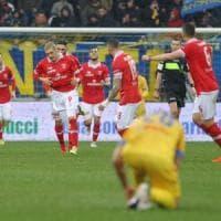 Serie B: il Perugia sorprende il Frosinone, Empoli da solo in vetta