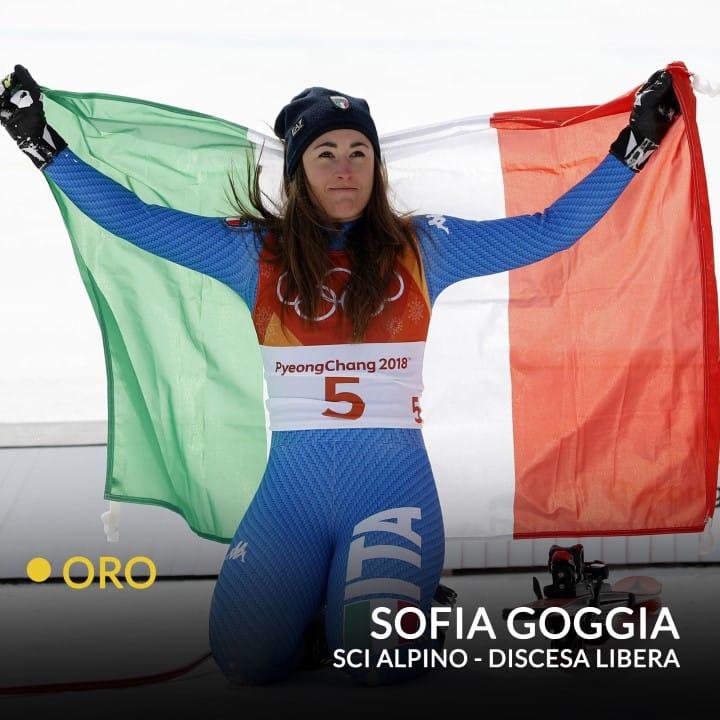 Le dieci medaglie italiane a PyeongChang