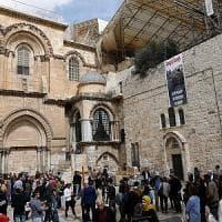 Gerusalemme, chiuso il Santo sepolcro: protesta contro piano fiscale israeliano