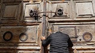 Gerusalemme, chiuso il Santo sepolcroper protesta contro piano fiscale israeliano