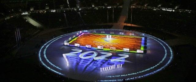 Musica e colori: i Giochi salutano Appuntamento a Pechino 2022   foto