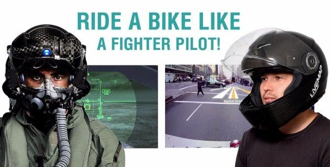 In moto come sul Jet: ecco il casco con la realtà aumentata