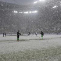 Neve a Torino, rinviata Juventus-Atalanta