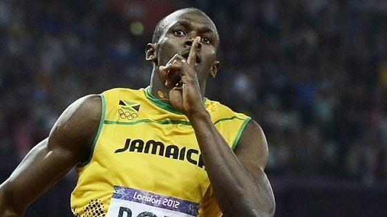 """Bolt: """"Ho firmato per una squadra di calcio, martedì scoprirete quale"""""""