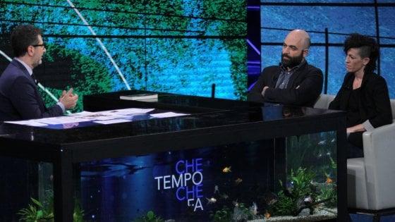 """Saviano con la compagna di dj Fabo: """"Biotestamento, pre"""
