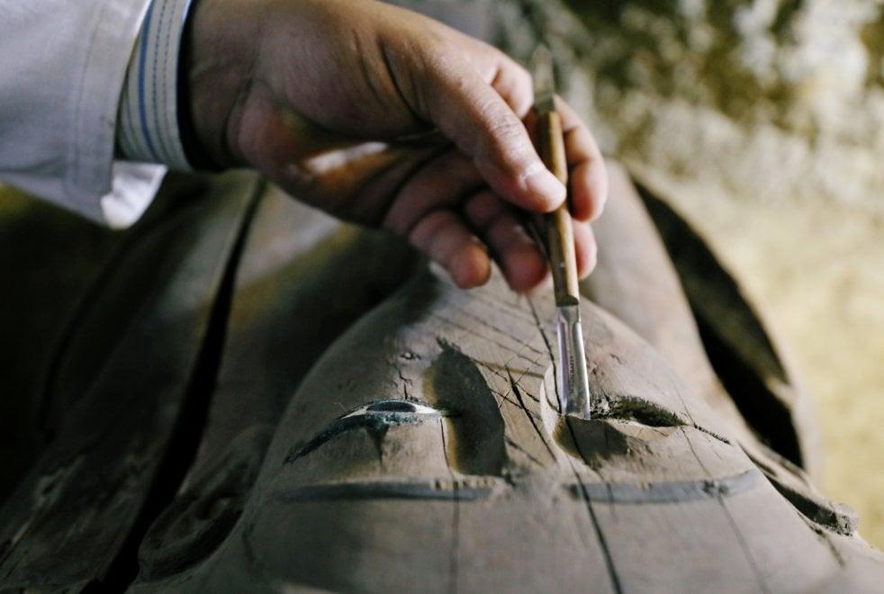 Archeologia, scoperta necropoli di 2500 anni fa nei pressi di Minya in Egitto