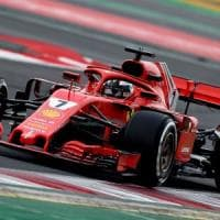 F1, primi test a Barcellona: la Ferrari di Raikkonen subito veloce