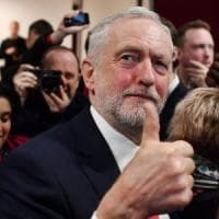 Regno Unito, Corbyn lancia la