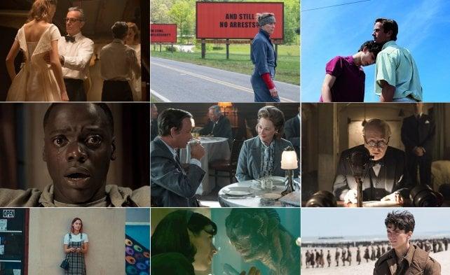 In corsa per il miglior film, ecco i magnifici 9