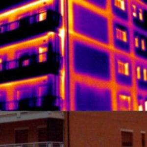 Dispersione termica di un edificio
