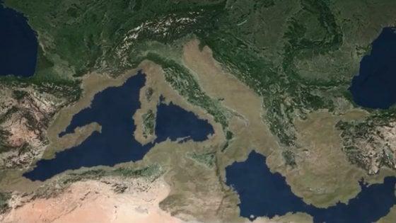 Mediterraneo, 6 milioni di anni fa una mega inondazione