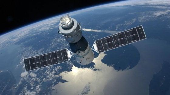 """Stazione spaziale cinese, l'Asi: """"Rientro il 10 aprile, remote possibilità di frammenti in Italia''"""