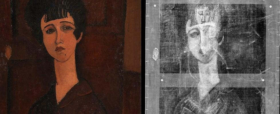 """Londra, un altro Modigliani sotto il """"Ritratto di Ragazza"""""""