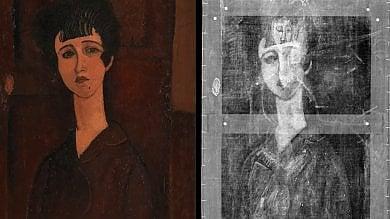 """Modigliani, un altro volto femminile  sotto al """"Ritratto di Ragazza"""""""