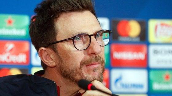 """Roma, Di Francesco: """"Quando i giocatori non mi seguiranno sarò il primo a salutare"""""""