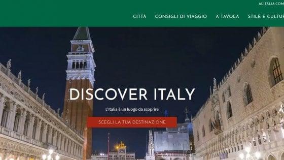 Nasce Discover Italy, Alitalia lancia il portale di promozione del turismo in Italia