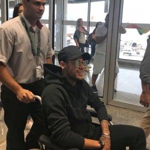 Psg, operazione Neymar: intera ala dell'ospedale riservata solo a lui