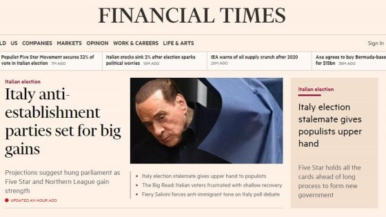 La stampa internazionale finanziaria punta sulla vittoria anti-sistema di M5s e Lega