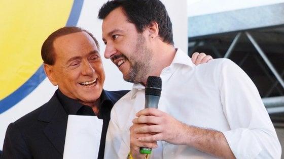 """Salvini: """"Abbiamo il diritto e il dovere di governare"""". Berlusconi: """"Il mandato spetta al centrodestra"""""""