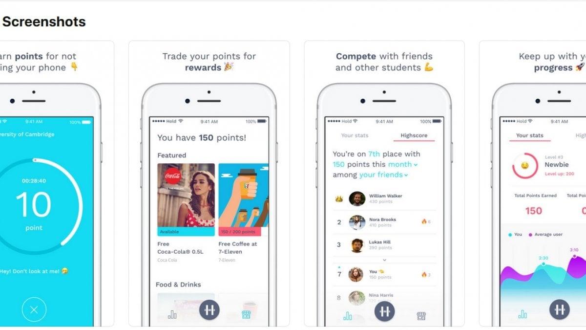 Hold l 39 app che ti paga per non usare lo smartphone for App che ti paga per camminare