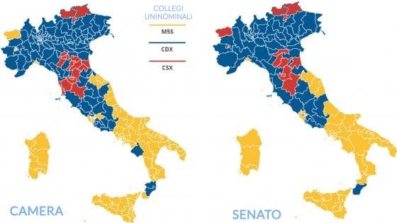 Elezioni Politiche 2018, M5s sfondano al Sud: è cappotto in Sicilia e Sardegna