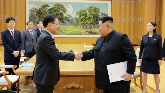 Le due Coree, cena del disgelo. Vertice ad aprile
