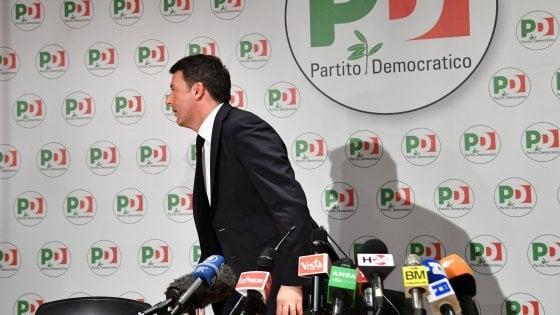 """Renzi sfida i suoi: """"Chi vuole governo con i 5 Stelle lo dica"""". Franceschini: """"Mai pensato ad alleanze con M5s e destre"""""""