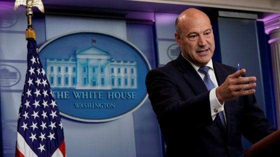 Fuga da Trump: si dimette il consigliere economico Cohn, contesta i dazi