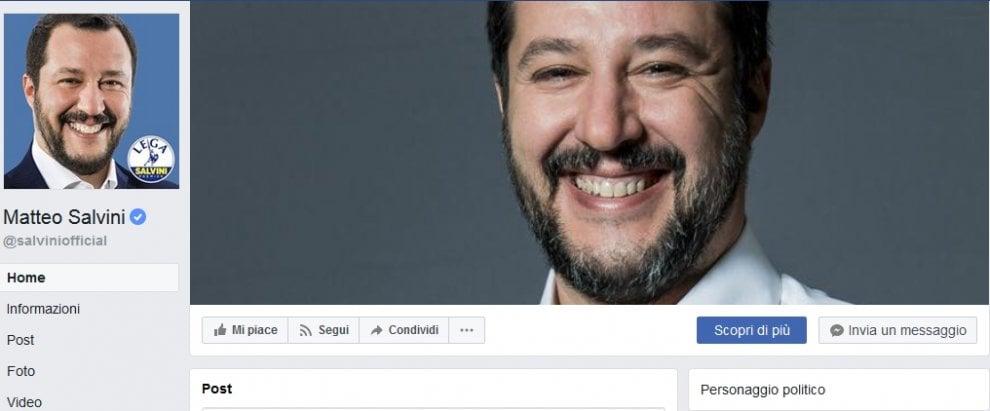 Elezioni, tutti i sorrisi di Salvini su Facebook in 24 ore