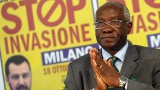Nigeriano, immigrato, titolare d'azienda: eletto dalla Lega il primo senatore nero video