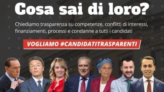 """Candidati trasparenti, 113 eletti hanno aderito alla campagna di """"Riparte il futuro"""""""