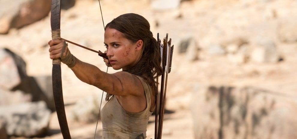 """Sul set con Alicia Vikander: """"La mia Lara Croft, un'indomita ragazza qualunque"""""""