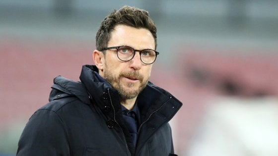 Roma, Eusebio Di Francesco presenta l'anticipo contro il Torino