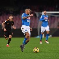 Napoli, De Laurentiis blinda Allan: contratto fino al 2023