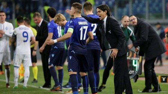 """Lazio, Inzaghi: """"Errori sui gol, a Kiev per giocarcela"""""""