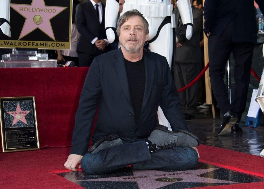 Star Wars, una stella per lo Jedi: anche Mark Hamill sulla Walk of Fame