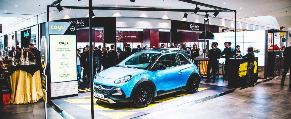 Idea Opel, la concessionaria in un centro commerciale