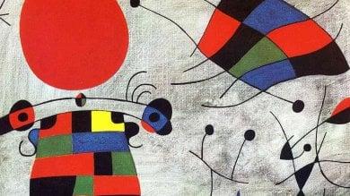 L'arte 'portoghese' di Miró in mostra a Padova per la prima volta in Italia  video