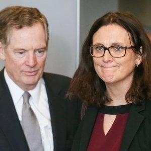 L'americano Lighthizer e la commissaria Malmström