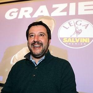 """Lega, Salvini: """"Di tutto per rispettare il mandato da premier. Presidenze delle Camera ai due vincitori"""""""