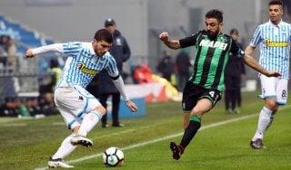 Sassuolo-Spal 1-1: Babacar risponde ad Antenucci, rigori agrodolci per i neroverdi