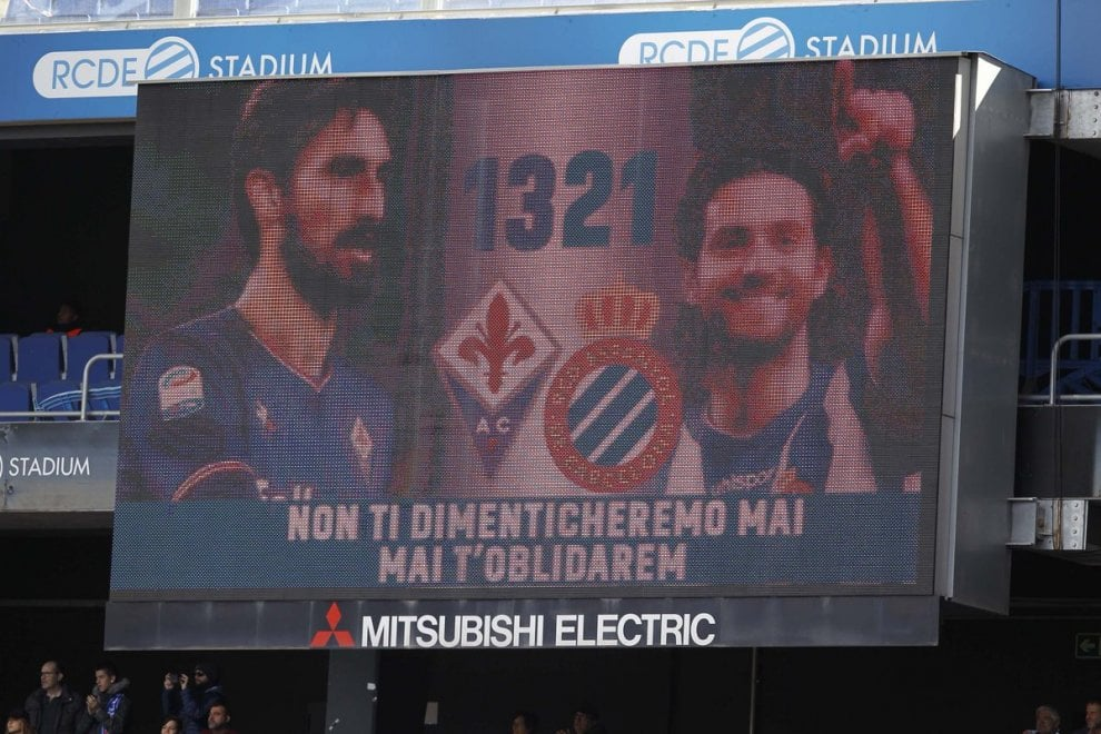 Davide Astori e Daniel Jarque: l'Espanyol ricorda i due giocatori scomparsi