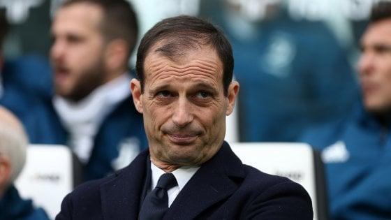 """Allegri applaude la sua Juve: """"La nostra forza è la compattezza. Real in Champions? Meglio di no"""""""