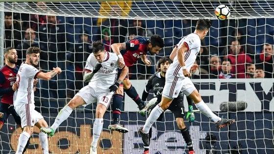 Genoa-Milan 0-1: la corsa Champions dei rossoneri continua grazie ad André Silva